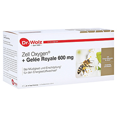ZELL OXYGEN+Gelee Royale 600 mg Trinkampullen 14x20 Milliliter