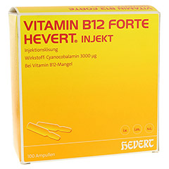 Vitamin B12 forte-Hevert Injekt 100x2 Milliliter
