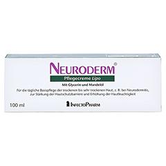 NEURODERM Pflegecreme Lipo 100 Milliliter - Rückseite
