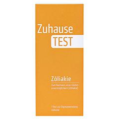 ZUHAUSE TEST Zöliakie 1 Stück - Vorderseite