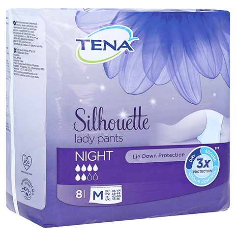 TENA LADY Pants Night M 8 Stück