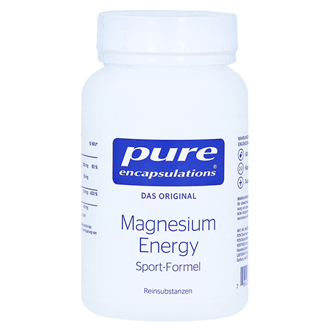 PURE ENCAPSULATIONS Magnesium Energy Kapseln 60 Stück