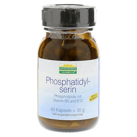 PHOSPHATIDYLSERIN Phospholip.m.Vit.B5 u.B12 Kaps. 60 Stück