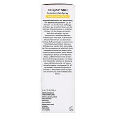 CETAPHIL Sun Daylong SPF 30 sensitive Gel-Spray 150 Milliliter - Rechte Seite