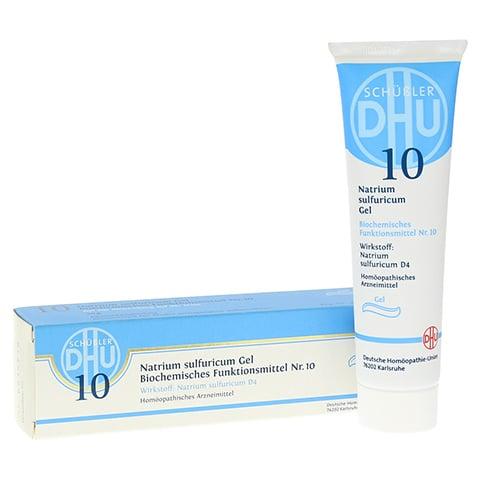 BIOCHEMIE DHU 10 Natrium sulfuricum D 4 Gel 50 Gramm N1