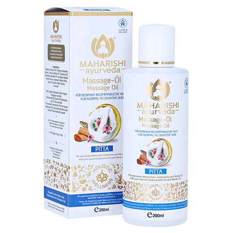 PITTA Massageöl 200 Milliliter