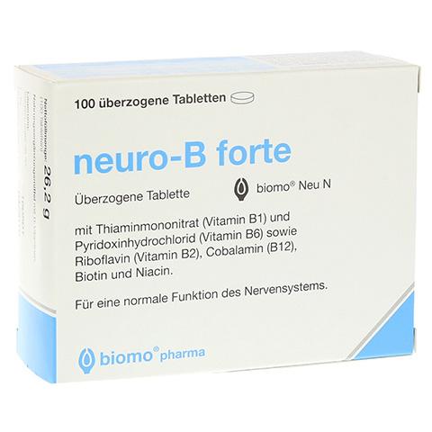 NEURO B forte biomo Neu überzogene Tabletten 100 Stück