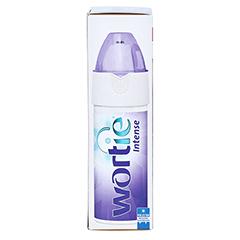 WORTIE Intense gegen Warzen u.Dornwarzen Spray+Gel 50 Milliliter - Linke Seite