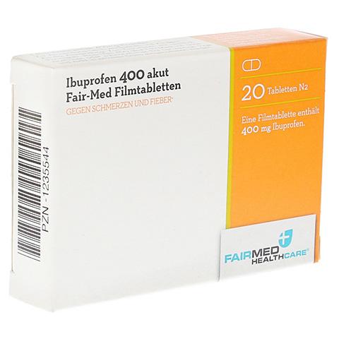 Ibuprofen 400 akut Fair-Med 20 Stück N1