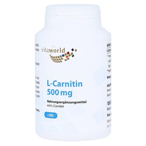 L-CARNITIN 500 mg Kapseln 100 Stück