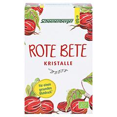 ROTE BETE Kristalle Bio Schoenenberger Pulver 200 Gramm - Vorderseite