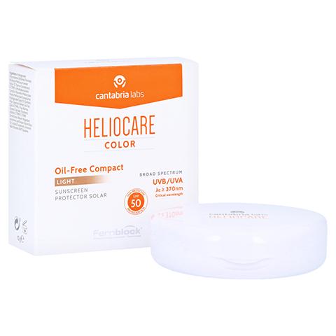 HELIOCARE Compact ölfrei SPF 50 hell Make-up 10 Gramm