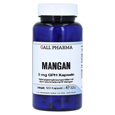 MANGAN 5 mg GPH Kapseln 120 Stück