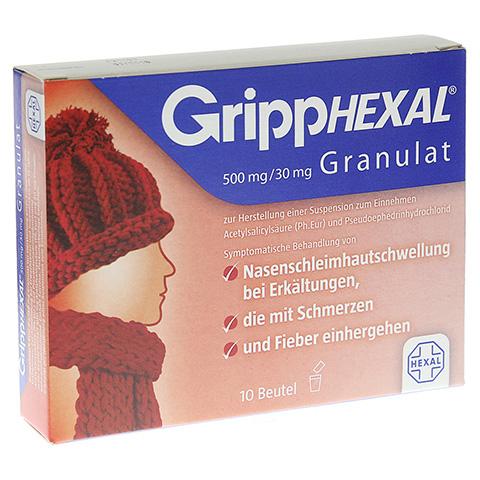 GRIPPHEXAL 500 mg/30 mg Gra.z.Herst.e.Susp.z.Einn. 10 Stück N1