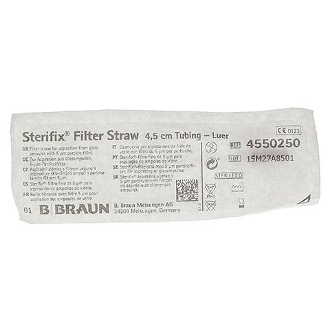STERIFIX Filterh.4,5 cm Schl. 1 Stück