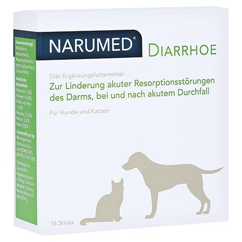 NARUMED Diarrhoe Pulver-Sticks f.Hunde/Katzen 16x1.6 Gramm