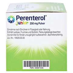 Perenterol Junior 250mg 50 Stück N3 - Linke Seite