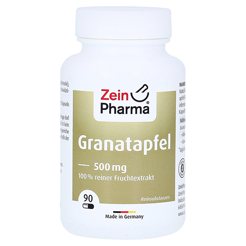 Granatapfel Kapseln 500 mg 90 Stück