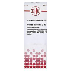 ARANEA DIADEMA D 12 Dilution 20 Milliliter N1 - Vorderseite