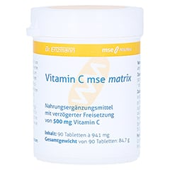 VITAMIN C MSE Matrix Tabletten 90 Stück