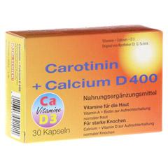 CAROTININ+Calcium D 400 Kapseln 30 Stück