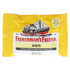 FISHERMANS FRIEND Anis Pastillen 25 Gramm