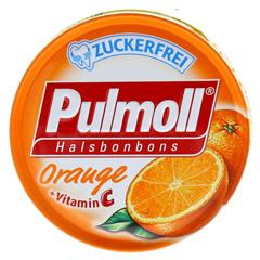 PULMOLL Hustenbonbons Orange+Vit.C zuckerfrei 50 Gramm