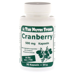 CRANBERRY 500 mg Kapseln 90 Stück