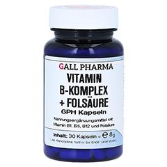 VITAMIN B Komplex+Folsäure Kapseln 30 Stück