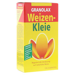 WEIZENKLEIE Granolax Grandel Pulver 200 Gramm