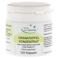GRANATAPFEL KONZENTRAT 40% Vegi Kapseln 120 Stück