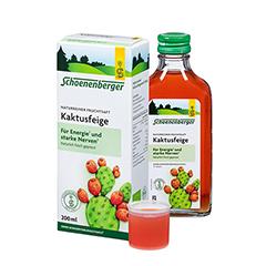 KAKTUSFEIGE Saft Bio Schoenenberger 200 Milliliter