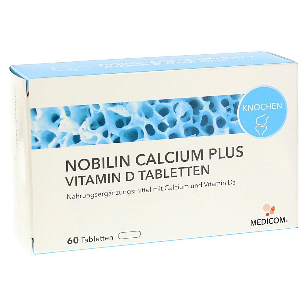 nobilin calcium plus vitamin d tabletten 60 st ck online. Black Bedroom Furniture Sets. Home Design Ideas