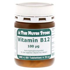 VITAMIN B12 100 µg Tabletten 180 Stück