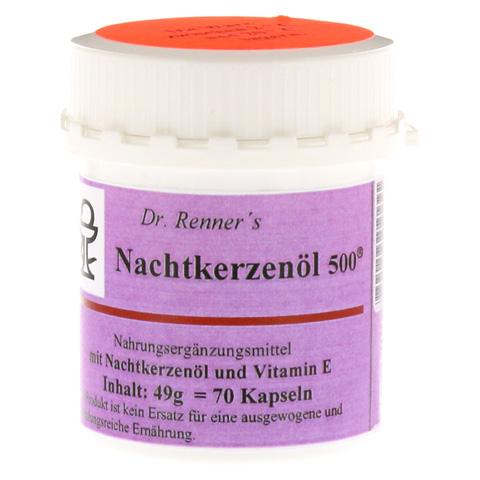 NACHTKERZENÖL 500 mg Dr.Renner's Kapseln 70 Stück
