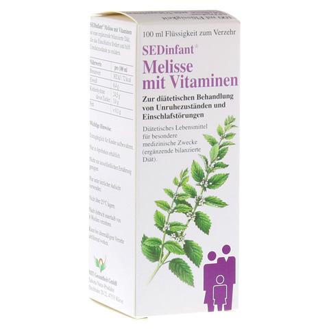 SEDINFANT Melisse mit Vitaminen flüssig 100 Milliliter
