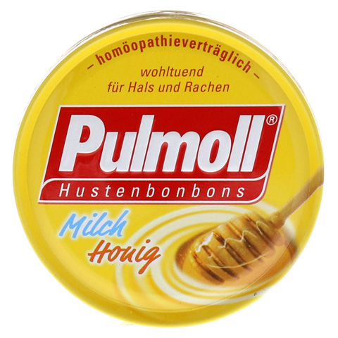 PULMOLL Milch Honig Bonbons 75 Gramm