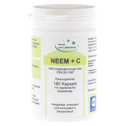NEEM+C Vegi Kapseln 180 Stück