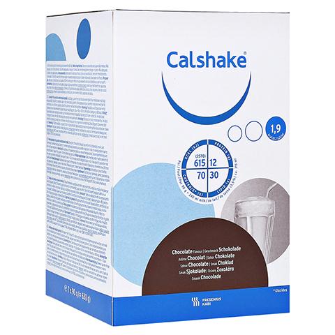 CALSHAKE Schokolade Beutel Pulver 7x90 Gramm