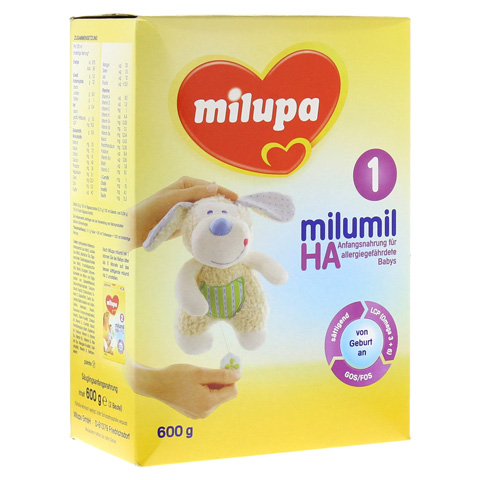 MILUPA MILUMIL HA 1 600 Gramm