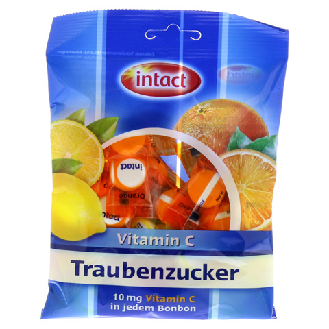 INTACT Traubenz. Vitamin C Tabletten 75 Gramm