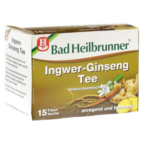 BAD HEILBRUNNER Tee Ingwer Ginseng Filterbeutel 15 Stück