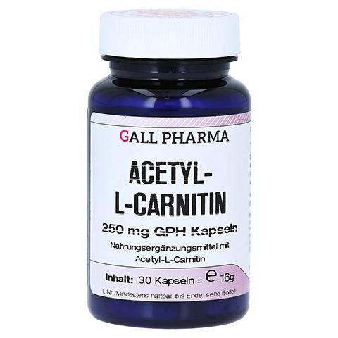 ACETYL-L-CARNITIN 250 mg Kapseln 30 Stück