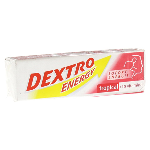 DEXTRO ENERGY Tropical+10 Vitamine Stange 1 Stück