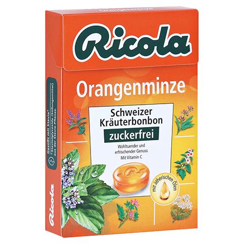 RICOLA o.Z. Box Orangenminze Bonbons 50 Gramm
