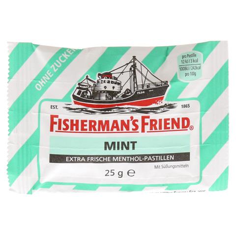 FISHERMANS FRIEND mint ohne Zucker Pastillen 25 Gramm