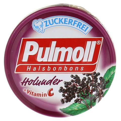 PULMOLL Holunder zuckerfrei Bonbons 50 Gramm