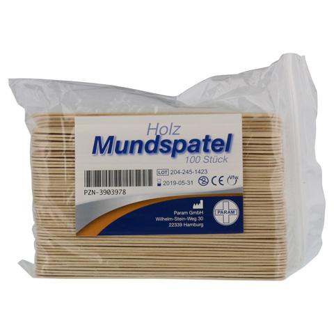MUNDSPATEL Holz Btl. 100 Stück