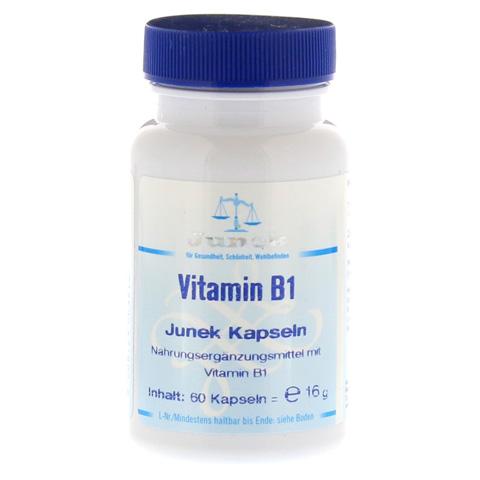 VITAMIN B1 3,0 mg Junek Kapseln 60 Stück