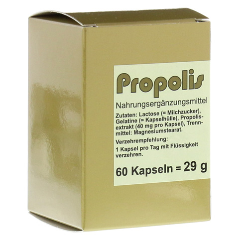 PROPOLIS KAPSELN 60 Stück